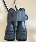 Foldable night vision goggles